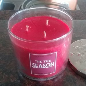 BBW Tis the Season candle